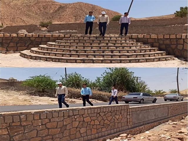 اجرای طرح هادی در 25 روستای بهمئی/تهیه طرح بهسازی برای 75 روستای شهرستان+تصاویر