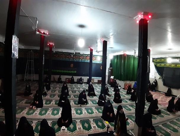 برگزاری مراسمات روزهای آخر ماه صفر در شهرستان باشت