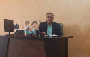 دکتر محمود فاطمی جهت کاندیداتوری در انتخابات میان دوره گچساران وباشت اعلام حضور کرد
