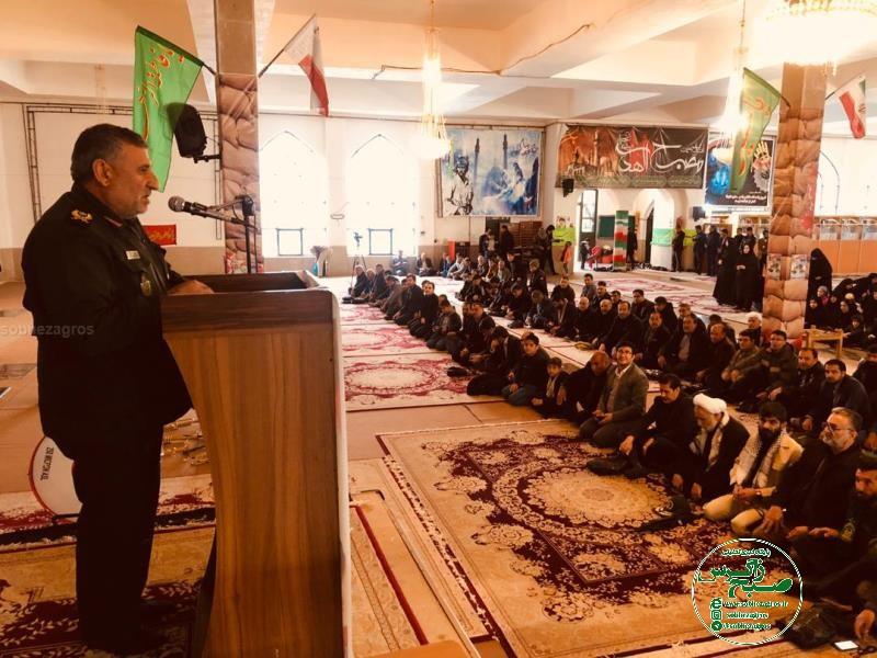 مراسم گرامی داشت سپهبد سلیمانی در گلزار شهدای یاسوج+تصاویر