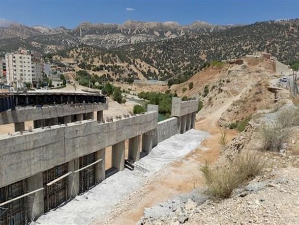 آخرین وضعیت پل چهارم بشار در مرداد ۱۴۰۰+تصاویر
