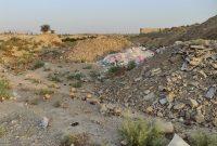 نخالههای ساختمانی معضل همیشگی در لیکک شهرستان بهمئی